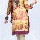 Indian Bollywood Designer Digital Print Shalwar & Salwar Kameez - X2924