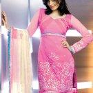Shalwar Salwar Kameez Indian Designer Embroidered Crepe Suit - X 32