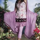 Soft Cotton Designer Embroidered Shalwar & Salwar Kameez With Dupatta - X 8058b
