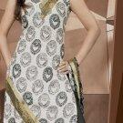 Shalwar Salwar Kameez Indian Designer Embroidered Crepe Suit - X 30