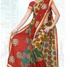 Indian Bollywood Designer Saree Embroidered Sari - Tu6734