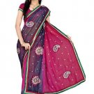 Indian Bollywood Designer Saree Embroidery Stylish Traditional Sari - TU 700