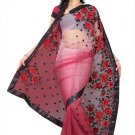 Indian Bollywood Designer Saree Embroidery Stylish Traditional Sari - TU 648