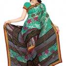 Indian Bollywood Designer Saree Embroidery Stylish Traditional Sari - TU 575