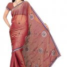 Indian Bollywood Designer Saree Embroidery Stylish Traditional Sari - TU 603
