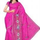 Indian Bollywood Designer Saree Embroidery Stylish Traditional Sari - TU 591
