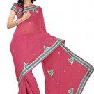 Indian Bollywood Designer Saree Embroidery Stylish Traditional Sari - TU 635