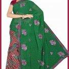 Indian Bollywood Designer Saree Embroidered Sari - Tu6755