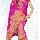 Indian Bollywood Designer Saree Embroidered Sari - Tu6715