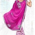 Indian Bollywood Designer Saree Embroidered Sari - Tu6711