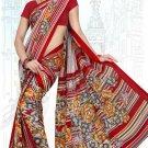 Indian Bollywood Designer Saree Embroidered Sari - Tu6667