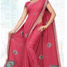 Indian Bollywood Designer Saree Embroidered Sari - TU6210(2)