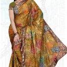 Indian Bollywood Designer Saree Embroidered Sari - TU6144