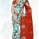 Indian Bollywood Designer Saree Embroidered Sari - Tu6723