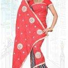 Indian Bollywood Designer Saree Embroidered Sari - Tu6722