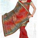 Indian Bollywood Designer Saree Embroidered Sari - TU6656