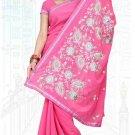 Indian Bollywood Designer Saree Embroidered Sari - TU6103