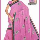 Indian Bollywood Designer Saree Embroidered Sari - TU6127