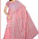 Indian Bollywood Designer Saree Embroidered Sari - TU6091