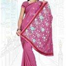 Indian Bollywood Designer Saree Embroidered Sari - TU5997