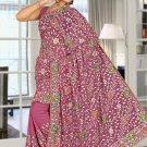 Indian Bollywood Designer Saree Embroidered Sari - TU5931