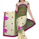 Indian Bollywood Designer Saree Embroidered Sari - TU5895C