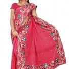 Indian Bollywood Designer Saree Embroidered Sari - TU5865B