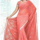 Indian Bollywood Designer Saree Embroidered Sari - TU5906