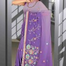 Indian Bollywood Designer Saree Embroidered Sari - TU5868