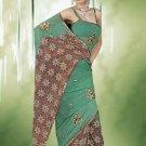 Indian Bollywood Designer Saree Embroidered Sari - TU533 -1