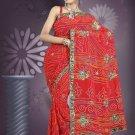 Indian Bollywood Designer Saree Embroidered Sari - TU539 -1