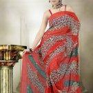 Indian Bollywood Designer Saree Embroidered Sari - TU466 -1
