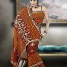 Indian Bollywood Designer Saree Embroidered Sari - TU465 -1