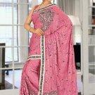 Indian Bollywood Designer Saree Embroidered Sari - TU5927