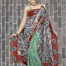 Indian Bollywood Designer Saree Embroidered Sari - TU472 -1