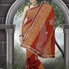 Indian Bollywood Designer Saree Embroidered Sari - TU460 -1