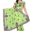 Indian Bollywood Designer Saree Embroidered Sari - TU109C