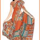Indian Bollywood Designer Embroidered Saree Sari - Tu6344