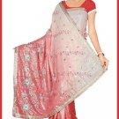 Indian Bollywood Designer Embroidered Saree Sari - Tu5625