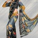 Indian Bollywood Designer Printed Saree Sari  - X 1511