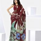 Indian Bollywood Designer Partywear Printed Saree Sari - VF 8318b