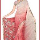 Indian Bollywood Designer Embroidered Saree Sari - Tu5623