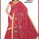 Indian Bollywood Designer Embroidered Saree Sari - Tu5621