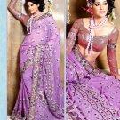 Indian Bollywood Designer Embroidery Saree Sari - VS1014