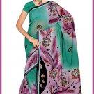 Indian Bollywood Designer Embroidered Saree Sari - Tu6336