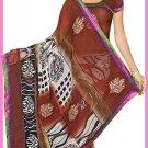 Indian Bollywood Designer Embroidered Saree Sari - Tu6311