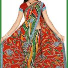 Indian Bollywood Designer Embroidered Saree Sari - Tu6225