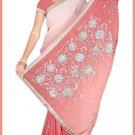 Indian Bollywood Designer Embroidered Saree Sari - Tu5622