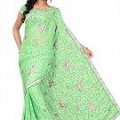 Indian Bollywood Designer Embroidered Saree Sari - Tu198