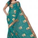 Indian Bollywood Designer Embroidered Saree Sari - Tu138